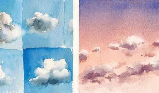 Wolken: Gefährten des Himmels – Aquarell Basics