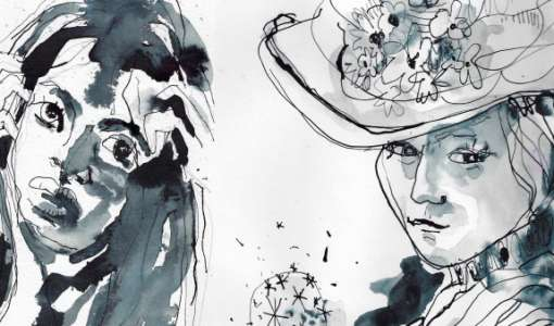 Portraits in Tusche